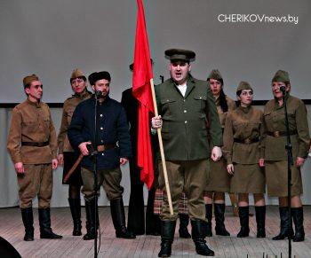 На мінулым тыдні ў Чэрыкаве прайшло адкрыццё абласнога агляду-конкурсу «У далонях маёй Беларусi»