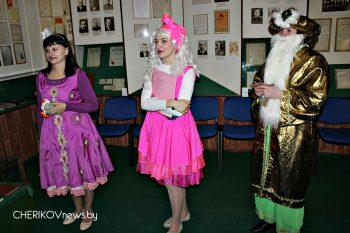Квест-игра прошла в историко-краеведческом музее города Черикова