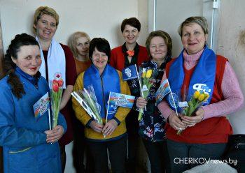 Салон красоты развернулся на МТК «Соколовка» КСУП «Прогресс» накануне 8 марта