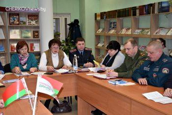 Открытый диалог, приуроченный ко Дню Конституции, прошел в центральной библиотеке Черикова