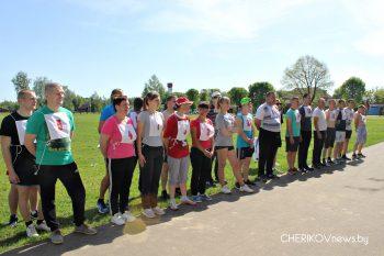 Легкоатлетический кросс прошел в минувшую субботу в Черикове