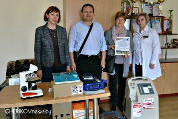 Итальянцы помогли закупить оборудование в Чериковскую ЦРБ