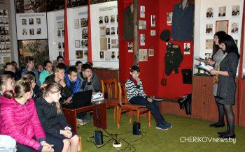 В Чериковском историко-краеведческом музее прошло мероприятие ко Дню Победы