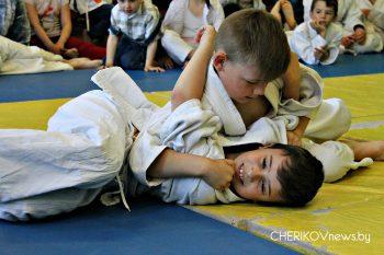 Первое открытое первенство по дзюдо прошло в Черикове