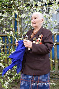 С цветущим маем, с победным маем вас, ветераны Чериковщины
