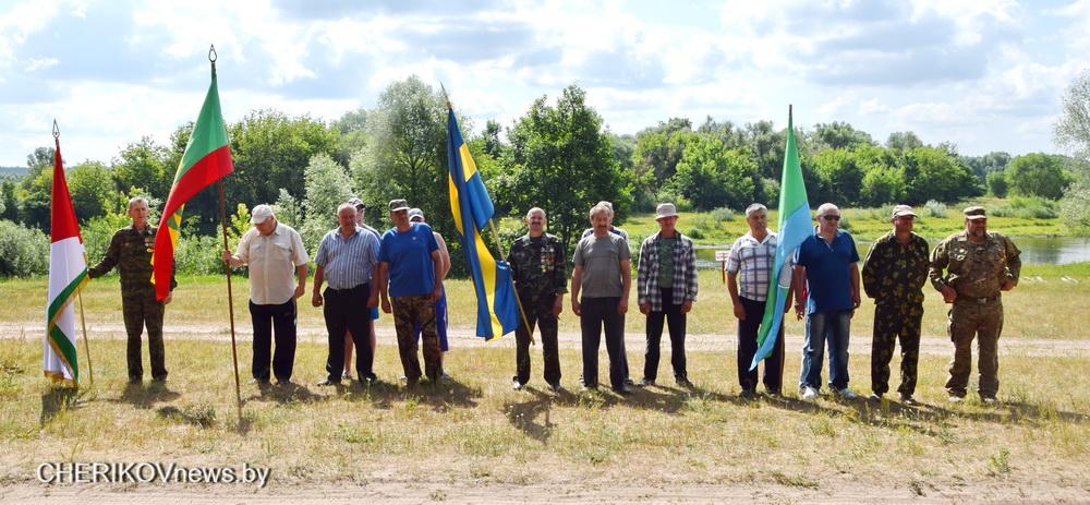 Соревнования воинов-интернационалистов из трех районов Могилевщины прошли в Чериковском районе