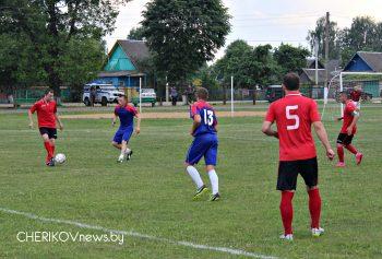 Со счетом 1:2 потерпели поражение чериковские футболисты в матче с командой из Краснополья