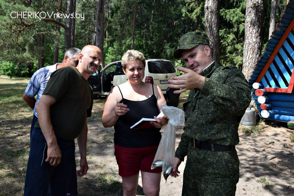 Встреча боевых товарищей. На Чериковщине соревновались воины-интернационалисты