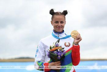Золотая медаль ІІ Европейских игр на счету уроженки Чериковского района Алены Ноздревой