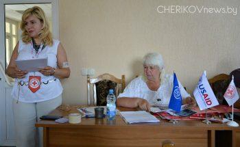 Тренинг в рамках проекта международной технической помощи пострадавшим от торговли людьми провели в Черикове