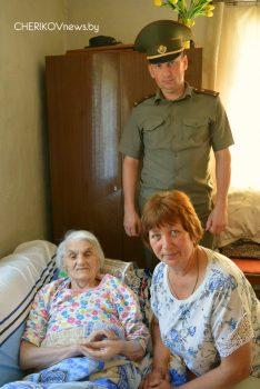Чериковский районный совет ветеранов вручил подарки участникам Великой Отечественной войны