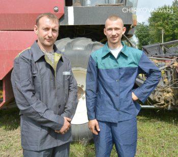 Уборка озимых зерновых культур, несмотря на сложные погодные условия, проводится в Чериковском районе