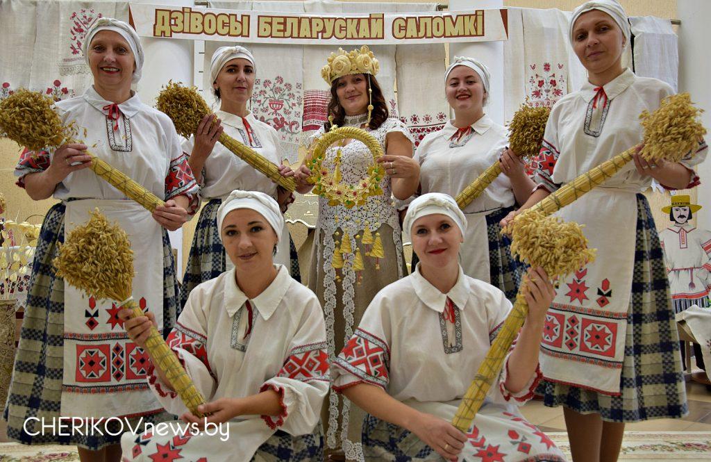 В Черикове прошел первый региональный пленэр мастеров соломоплетения