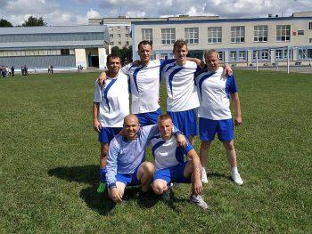 Работники Чериковского района газоснабжения — призеры летней спартакиады