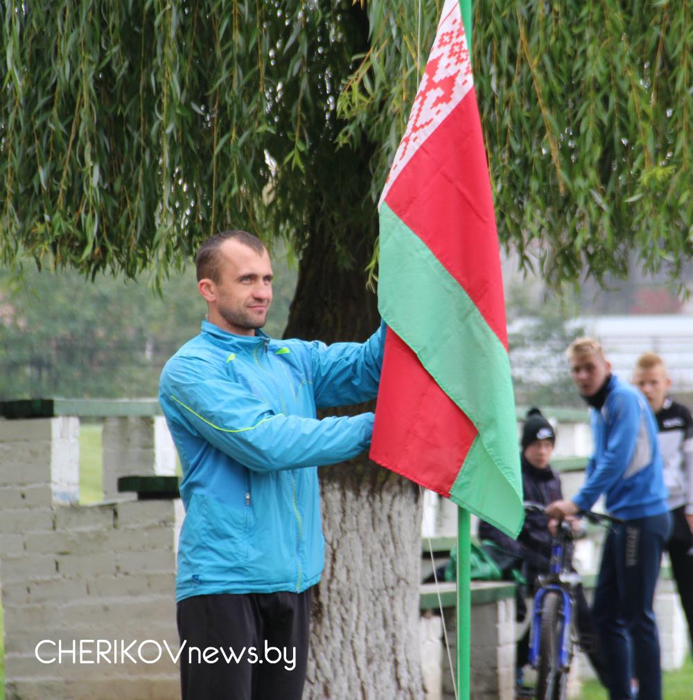 Традиционный легкоатлетический кросс прошел в Черикове