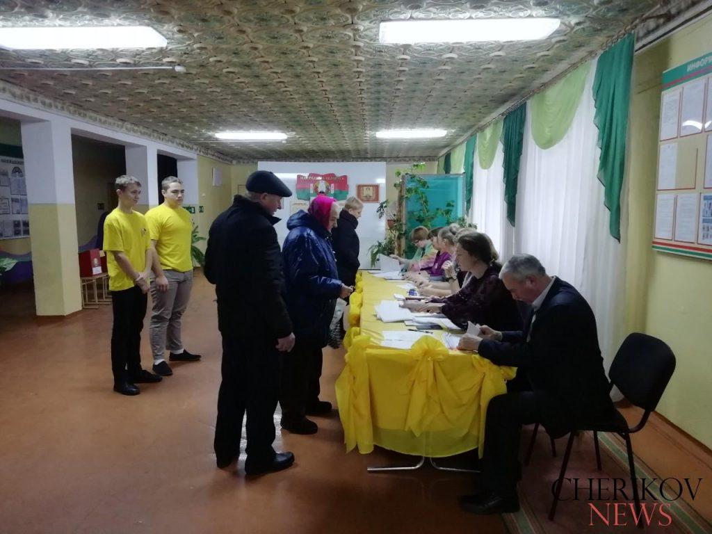 Волонтеры БРСМ оказывают помощь избирателям