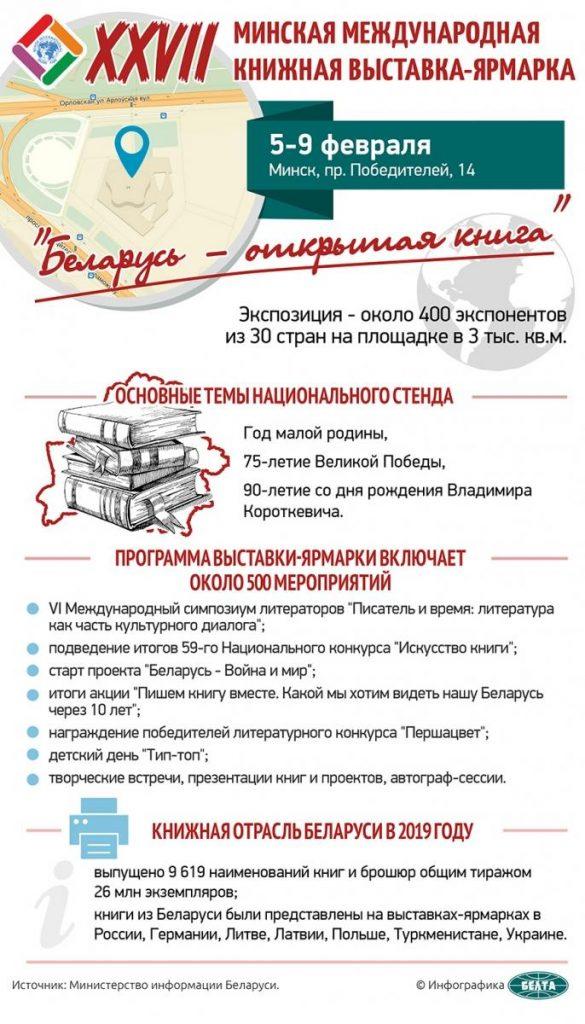 Беларусь и Россия будут почетными гостями на книжных ярмарках в ОАЭ и Корее