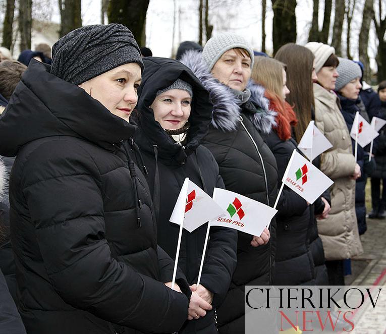 Память священная, вечная, нетленная... В Черикове прошел митинг, посвященный подвигу воинов-интернационалистов