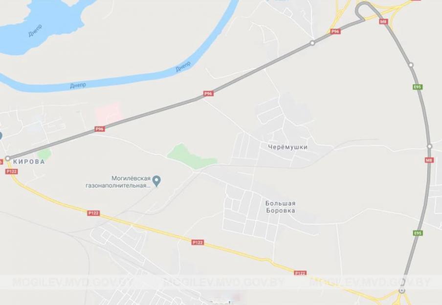 Участок дороги Могилев-Чериков в районе Малой Боровки придется объезжать через Любуж