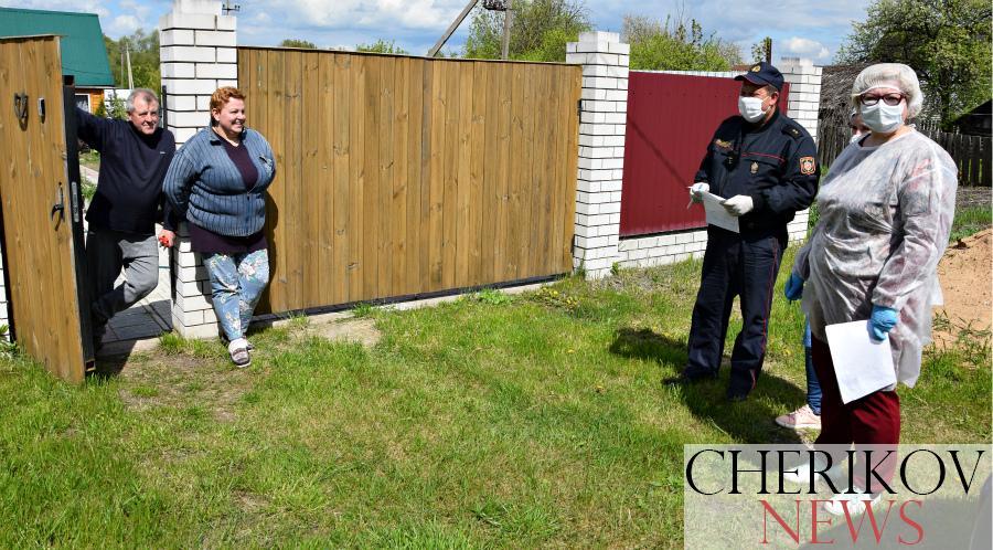 Корреспондент «ВЧ» присоединился к ежедневному рейду по проверке самоизоляции в нашем районе