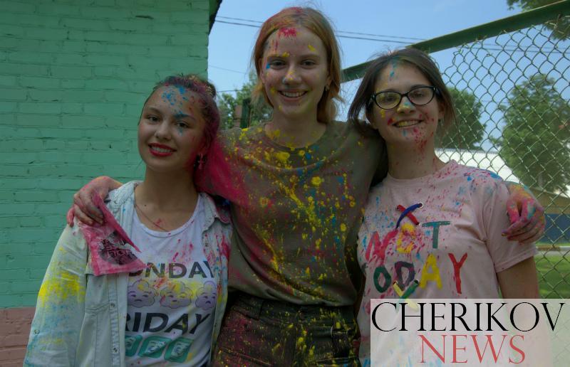 День молодежи отметили в Черикове. Фото