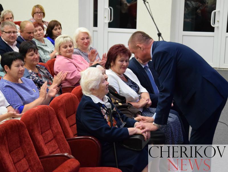 Председатель Могилевского облисполкома Леонид Заяц  посетил Чериковский район