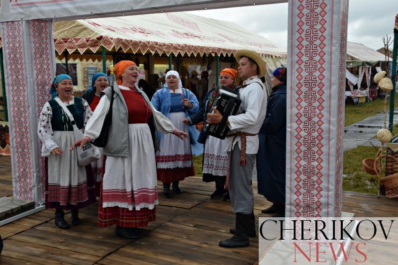 Наших земляков чествовали на празднике «Александрия собирает друзей» в Шкловском районе