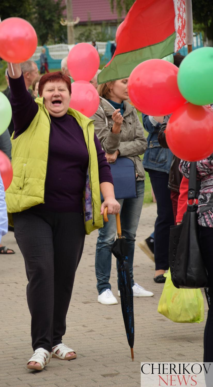 Митинг в Черикове — За мир, За независимость, За страну!