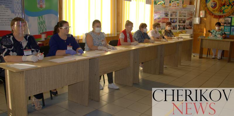 В Черикове открылось 15 участков для голосования