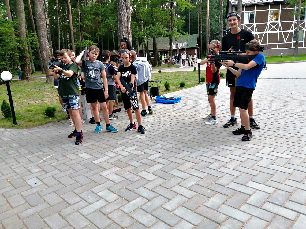 Воспитанники  Чериковской СДЮШОР отдохнули на базе «Кедровый бор»