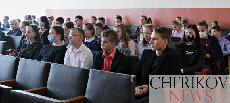 Урок профориентации на базе СШ № 2 города Черикова провели представители военного комиссариата