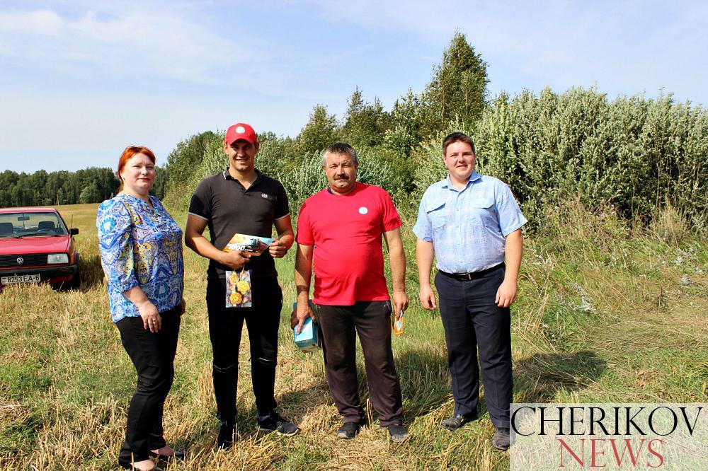 В Чериковском районе уборочная страда близится к завершению
