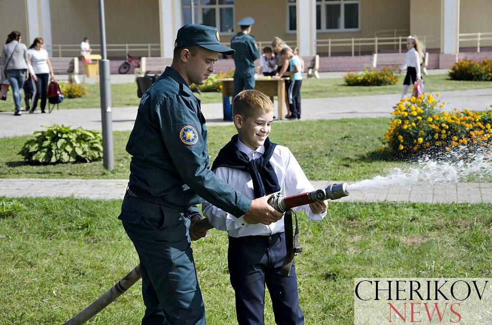 Праздник, посвященный Дню знаний, прошел в Черикове
