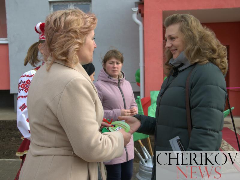В Черикове сдан в эксплуатацию новый 20-квартирный жилой дом