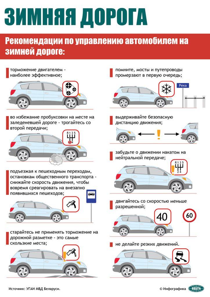 ГАИ в связи с морозами рекомендует водителям проверить техсостояние авто