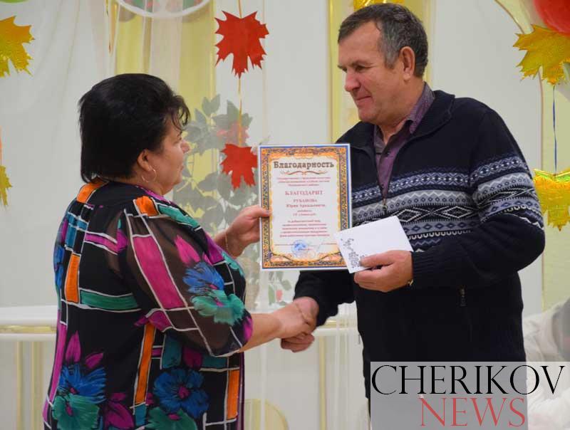 Работников культуры чествовали в Черикове